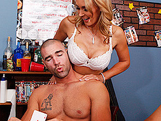 Tanya gives a decision to surprise her son in his dorm with some cookies, but this guy's not..