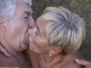 Granny sucking rods