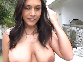 Gorgeous beauty has pulchritudinous fuck holes for playing