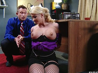 Leya can't live out of it when her boss treats her a charge out of prefer a wicked cutie. That..